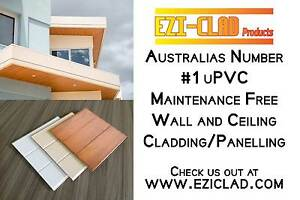 Cladding PVC /Panelling  ( maintenance free universal cladding )