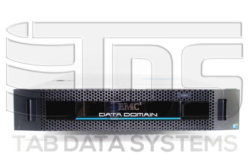 Emc Data Domain Dd860 Deduplication System W/ 4x 1tb 7.2k Sata Hdd, Accessories