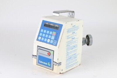 As-is Baxter Sabratek 3030 Infusion Iv Pump Medical Training Dispenser Dripper