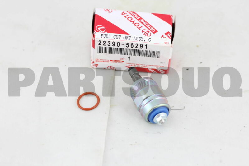 2239056291 Genuine Toyota Solenoid Assy, Fuel Cut 22390-56291