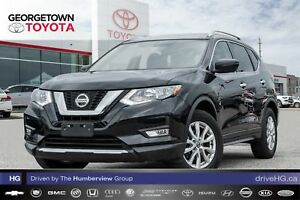 2018 Nissan Rogue SV|BACK UP CAM|PANO ROOF|HEATED SEATS|A/C