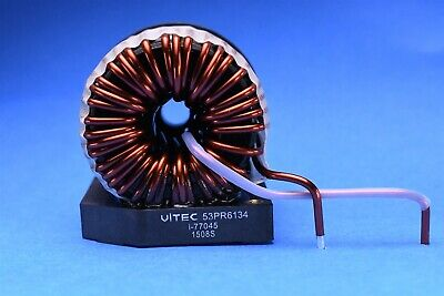 High Power High Current Pfc Output Filter Inductor 50a 164uh