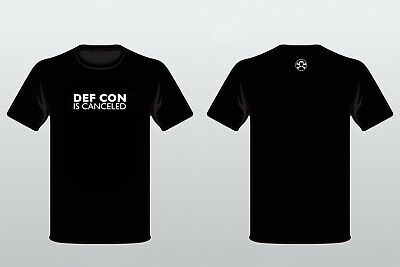 DEF CON is canceled t-shirt Glow In The Dark
