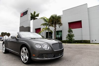 2013 Continental GT  2013 CONTINENTAL GTC - MULLINER - WELL MAINTAINED - HEATED AND COOLED SEATS