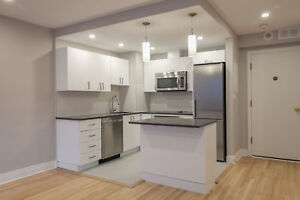 Steps from McGill / Concordia -Renovated Downtown 1 bed- 3 1/2 -