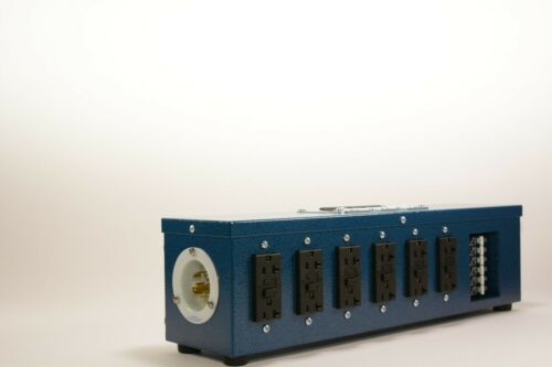 NEW Snackpack GFCI Power Distribution Electrical Panel