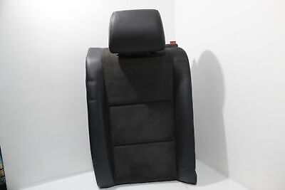 Audi A4 B6 Avant Black Alcantara Leather NS Left Rear Seat Backrest #1 for sale  Shipping to Ireland