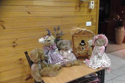 collectables teady bears
