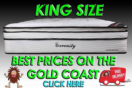 KING Size Orthopedic Pocket Spring Mattress NEW + FREE DELIVERY
