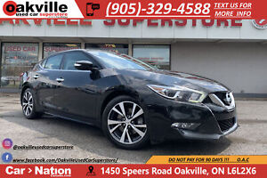 2016 Nissan Maxima SL | PANO ROOF | NAVI | B/U CAM | LEATHER