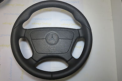 OEM ! Mercedes Steering Wheel W140 S W124 W202 W210 W463 500E R129 AMG thick  for sale  Shipping to United States