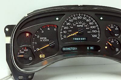03-04 REBUILT CHEVY GMC DURAMAX Diesel Instrument Cluster $70 Money Back