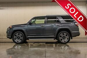 2018 Toyota 4Runner AWD Limited Leather Roof Nav