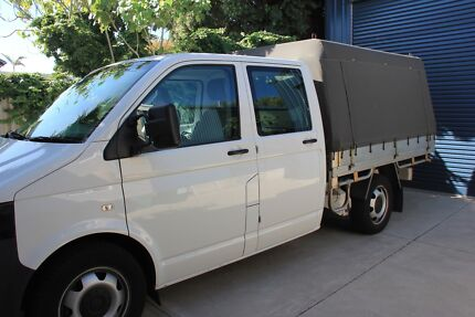 UTE 2011 Volkswagen Transporter dual cab 4motion 6 speed manual Shoalwater Rockingham Area Preview