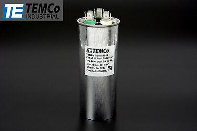 Temco 507.5 Mfd Uf Dual Run Capacitor 370 440 Vac Volts Ac Motor Hvac 507.5