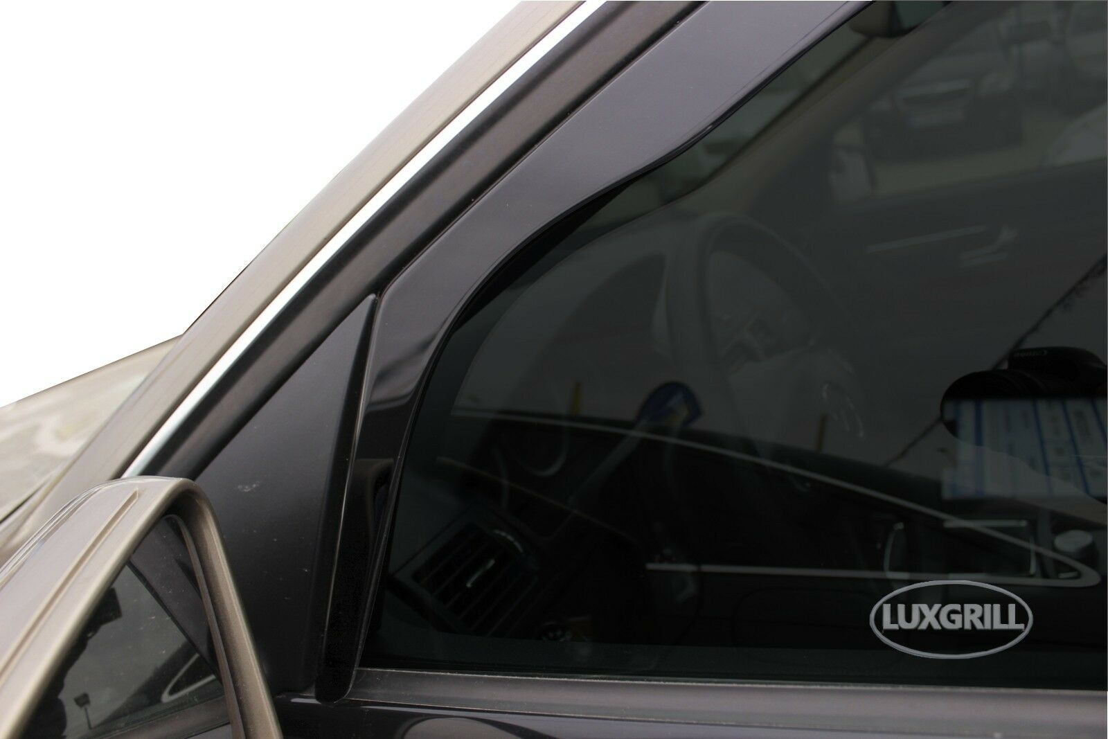 MIT for M.Benz C-Class W204 4D 4pcs In-Channel Window Deflectors for 2007-2014
