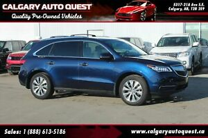 2016 Acura MDX AWD/NAVI/B.CAM/LEATHER/3RD ROW/ROOF