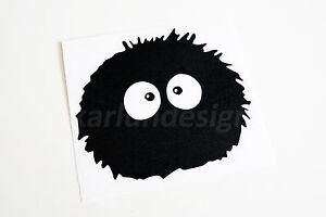 Soot sprites susuwatari vinyl decal sticker totoro sprited away manga