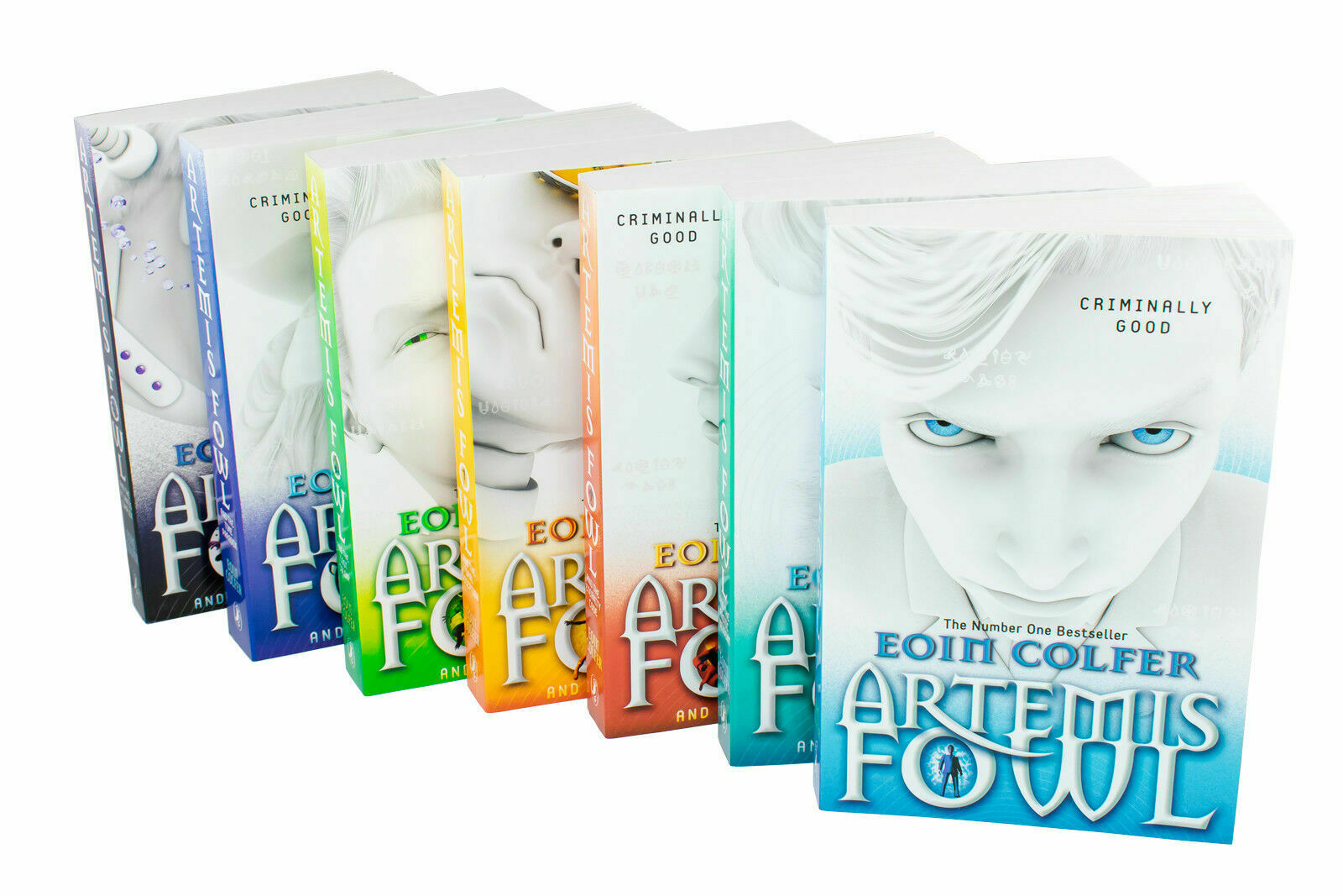 Details About Eoin Colfer Series 7 Books Young Adult Collection Paperback Set By Artemis Fowl