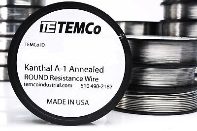 Temco Flat Ribbon Kanthal A1 Wire 0.8mm X 0.1mm 8 Oz 1404 Ft Resistance A-1