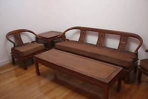 Rosewood Living Room Chairs Table Ming Chinese Vintage Bellevue Hill Eastern Suburbs Preview