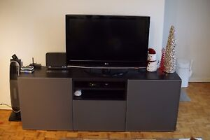 Ikea Tv Stand Besta Kijiji In Ontario Buy Sell Save With