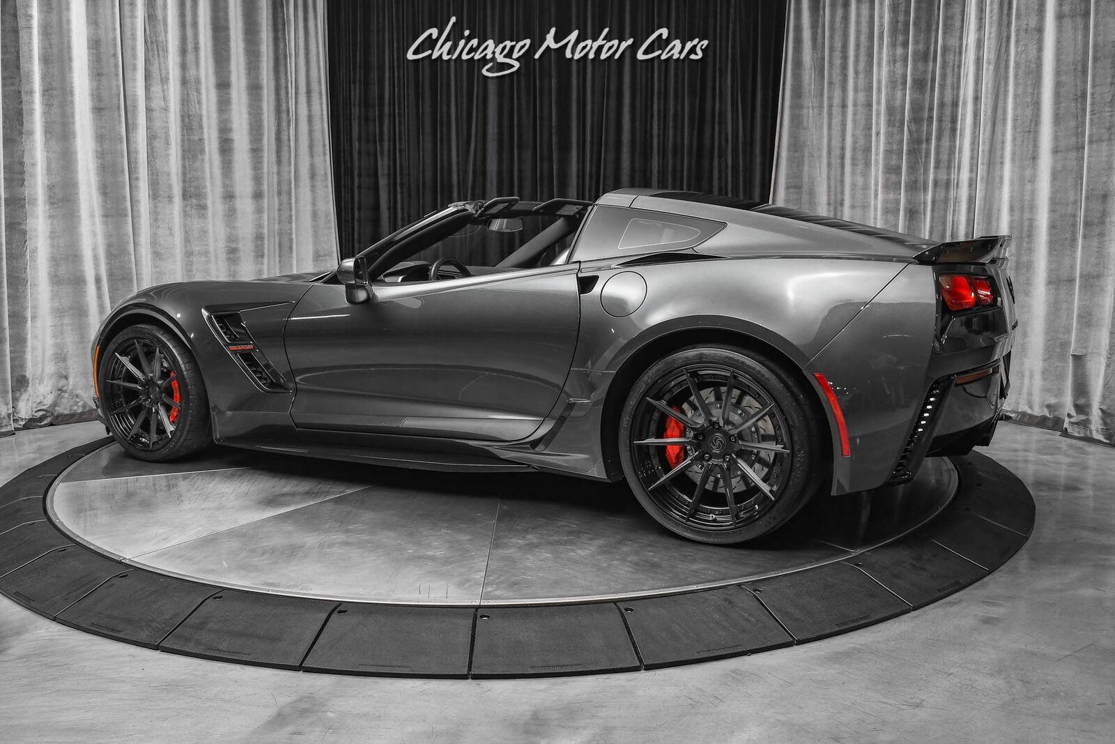 2017 Gray Chevrolet Corvette Grand Sport 2LT   C7 Corvette Photo 3