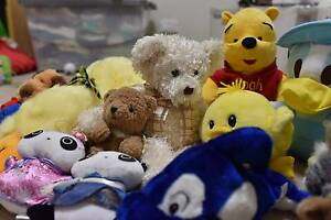 New and Pre-Loved Plush Toys $2 to $10 each Doncaster East Manningham Area Preview