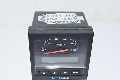 Georg Fischer Signet 3-5500 Flow Monitor Line-powered Analogdigital