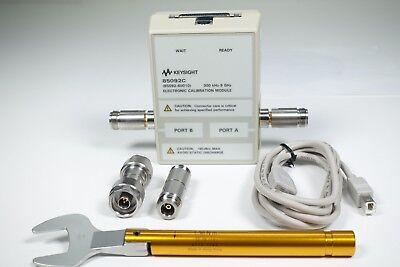 Keysight Used 85092C Type-N 50 Ohm ECal module, 300 kHz - 9GHz Opt.00F (Agilent), usado comprar usado  Enviando para Brazil