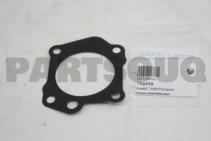 2227120010 Genuine Toyota Gasket, Throttle Body 22271-20010