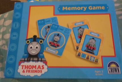 Thomas memory game near new for age 3 yrs plus