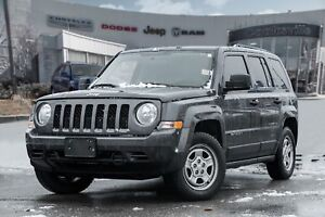 2016 Jeep Patriot Sport/North, ROOF RACK, CRUISE CONTROL, MANUAL