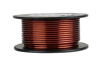 Temco Magnet Wire 11 Awg Gauge Enameled Copper 8oz 20ft 200c Coil Winding