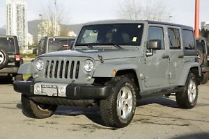 2015 Jeep Wrangler Unlimited Sahara - ALLOY WHEELS!