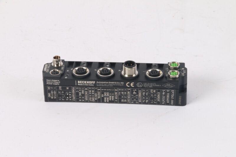 Beckhoff EP7041-3002 Stepper Motor Module 50V DC