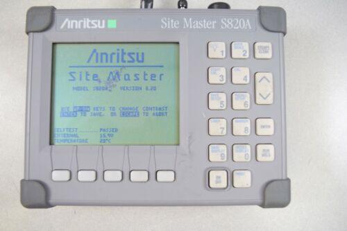 Anritsu S820A Sitemaster Antenna Analyzer. 3.3 to 20 GHz.