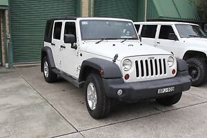 2010 Jeep Wrangler Unlimited Auto Convertible 6 Months Rego. Warriewood Pittwater Area Preview
