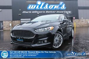 2015 Ford Fusion SE | AWD | NAV | SUNROOF | REAR CAM | LEATHER |