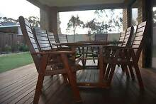 Timber Outdoor Dining Setting Cairnlea Brimbank Area Preview