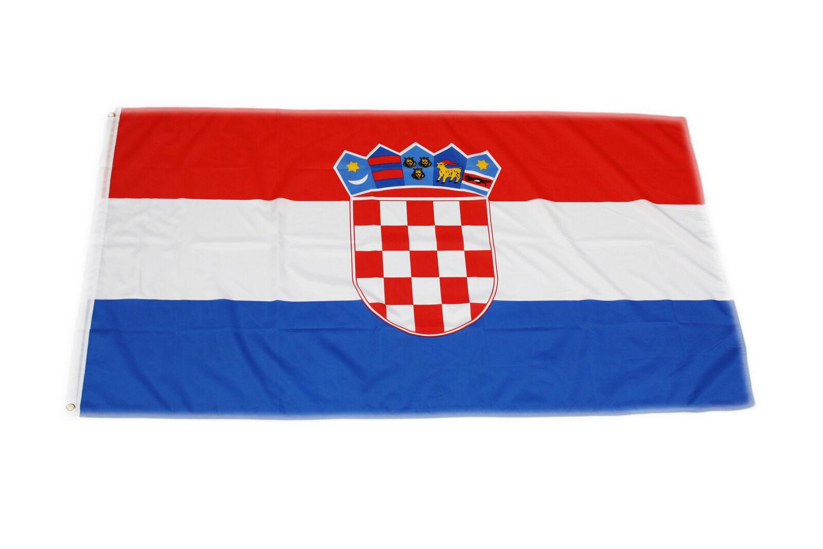 unsere NACHBARN noch mehr 90x150cm Hissfahne Fahne Flagge Gott sieht alles