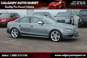 2012 Audi S4 3.0 Premium AWD / LEATHER / SUNROOF / MUST SEE