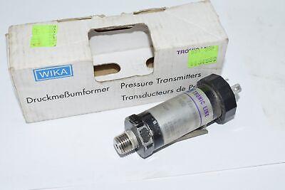Wika 891.13.500 Pressure Transmitter 420ma 12 N