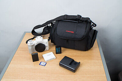 Canon EOS M50 24.2MP Mirrorless Camera Body with Extras