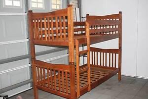 Bunk Wood Bed good condition Bridgeman Downs Brisbane North East Preview