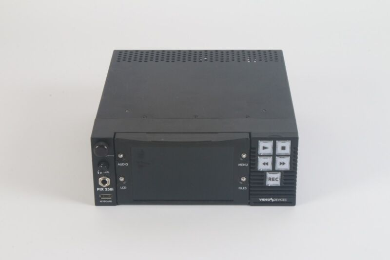 Video Devices PIX 250i Video Recorder and Network Connected Video Deck