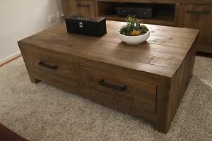 Superb Reclaimed Timber Style Coffee Table - NEW IN BOX Hawthorn East Boroondara Area Preview