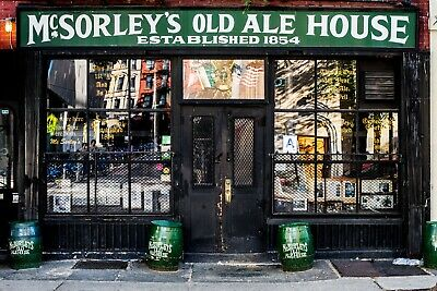 McSorley's Old Ale House -New York City 1854