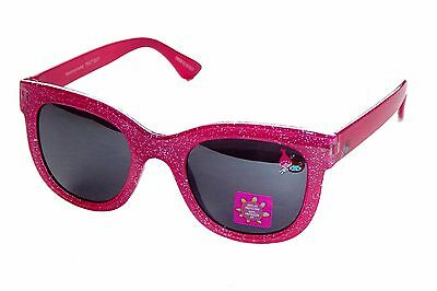 TROLLS PRINCESS POPPY Girls Pink Sparkle 100%UV Shatter Resistant Sunglasses NWT