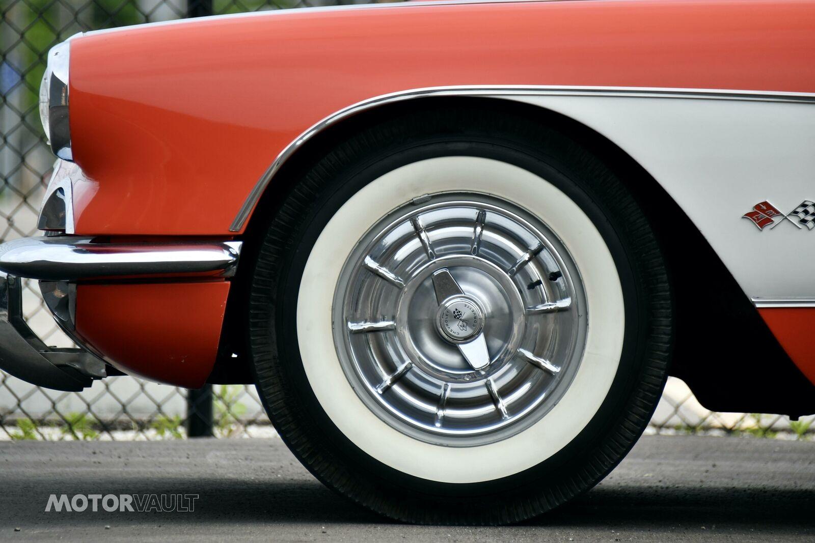 1958 Red Chevrolet Corvette   | C1 Corvette Photo 8
